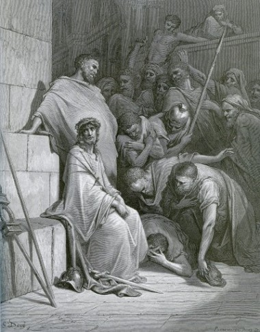 Gustave Doré: Verspottung Jesu